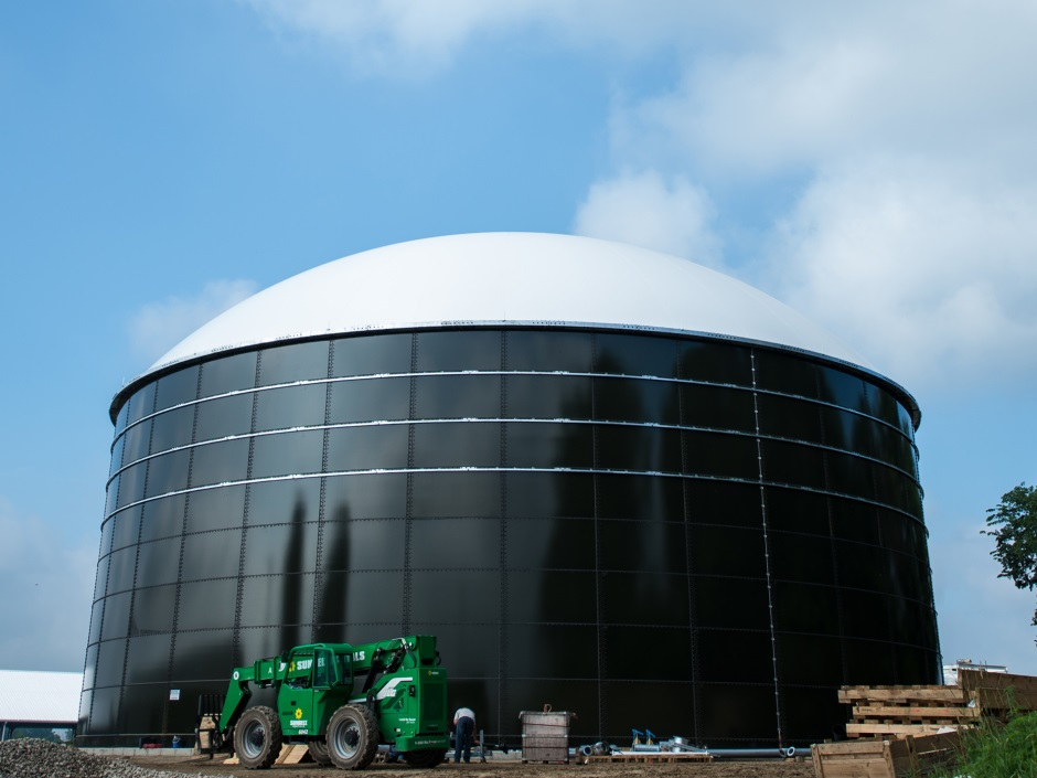 Photo of the Anaerobic Digester