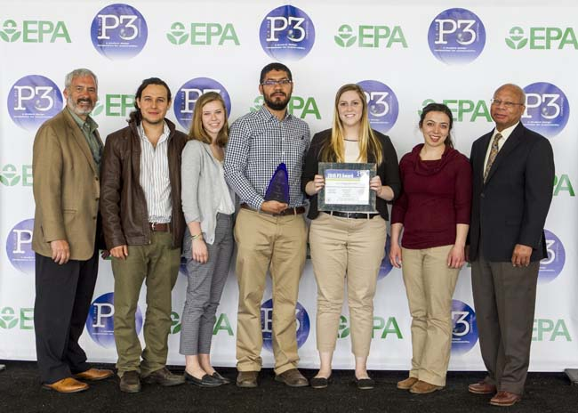 People, Prosperity and the Planet 2015 P3 Award by EPA