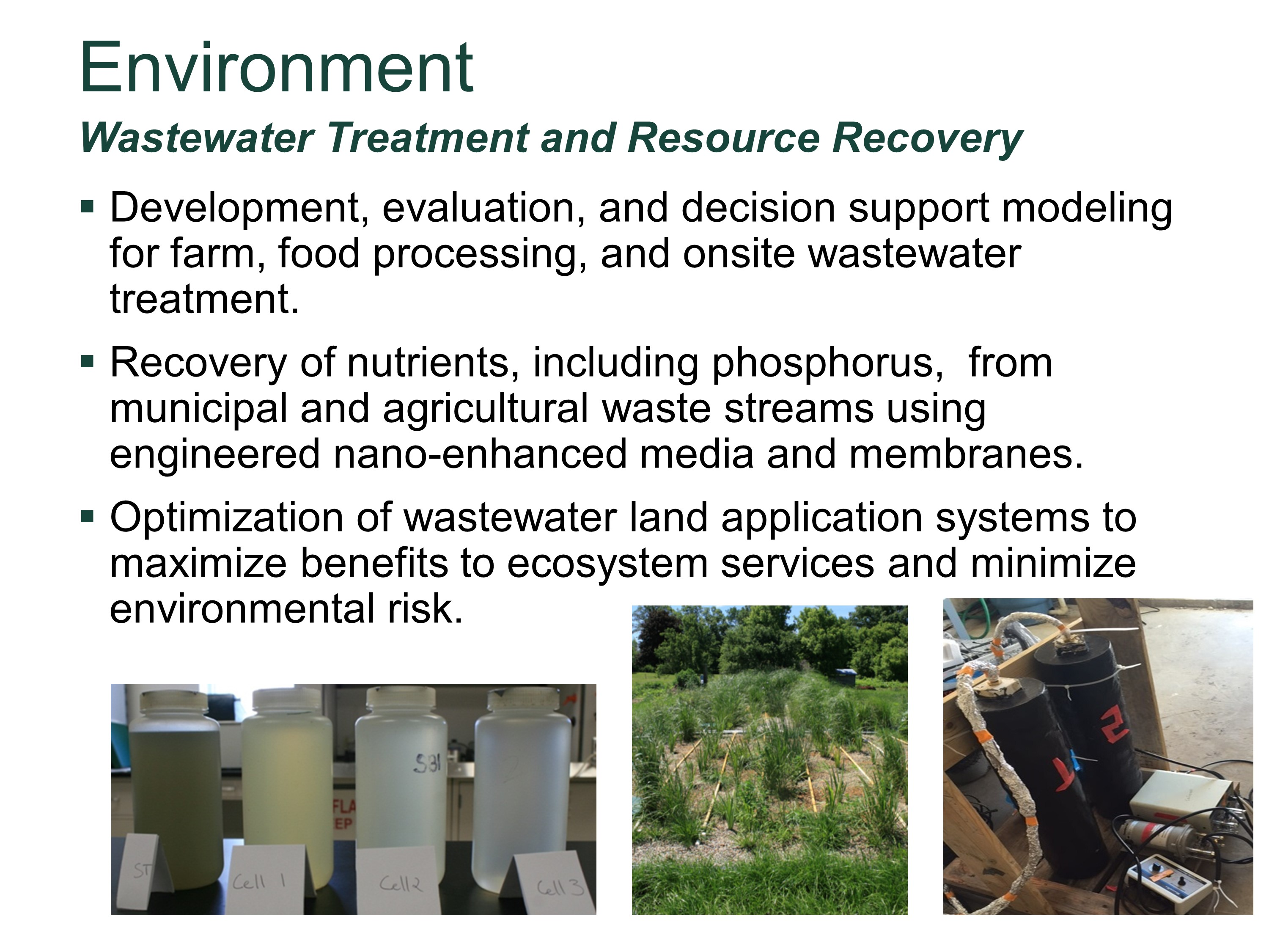 Wastewater Treatment and Resource Recovery