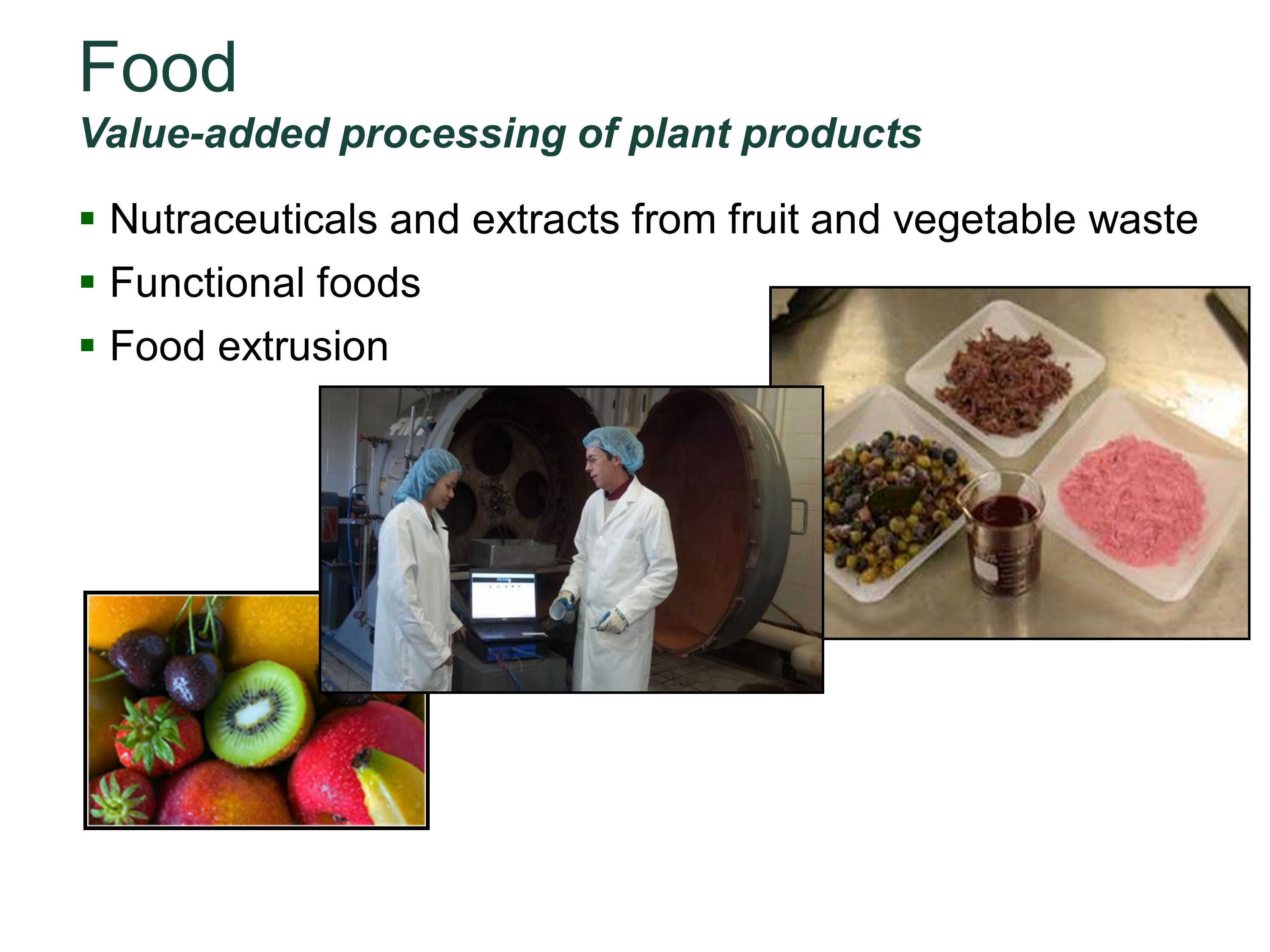 Photo of  Value Added Food and Products