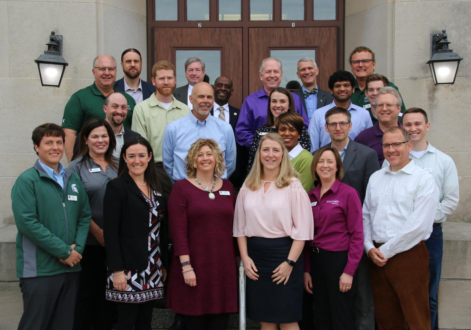 2018_19 Board Members & BE Showcase April Meeting