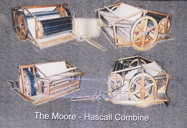 Photo of Moore /  Hascall Grain Combined Harvester-Thresher