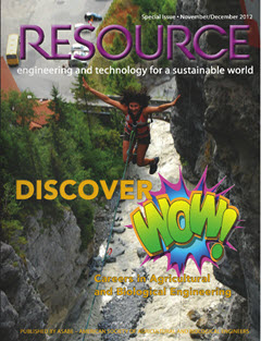 Cover and Link to Resource Magazine November 2012