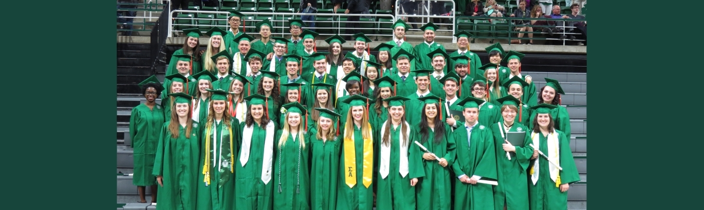 Picture  of the  BE Grads