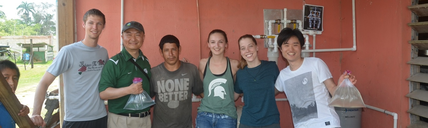 Bringing Clean Water to Children's Home in Belize