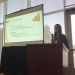 Photo of Melissa Rojas-Downing at ASABE conference