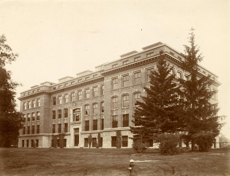 Photo courtesy of Michigan State University Archives & Historical Collections - Engineering Building