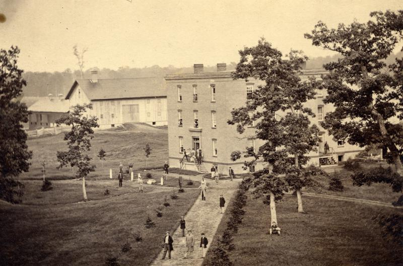 Photo courtesy of Michigan State University Archives & Historical Collections - Saints' Rest 1865