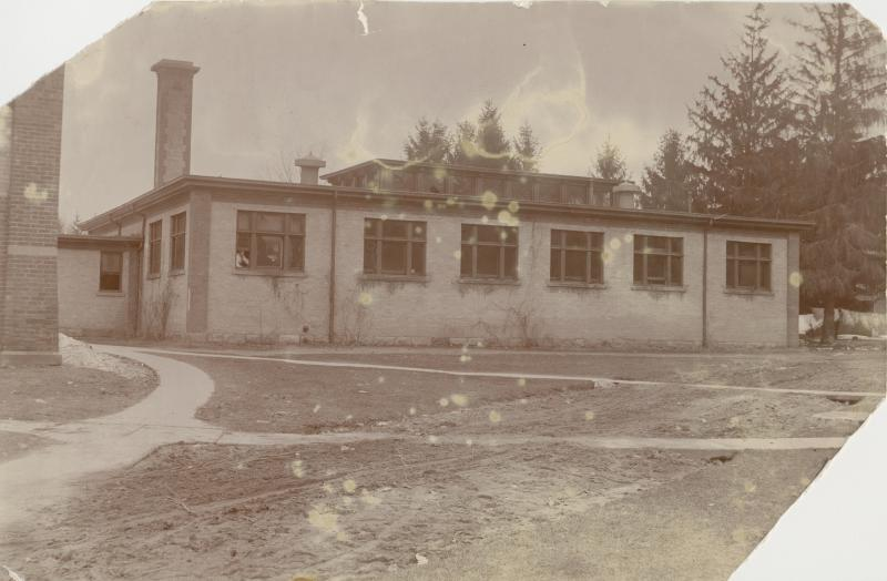 Photo courtesy of Michigan State University Archives & Historical Collections - The Bath House