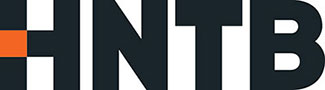 Logo for HNTB company