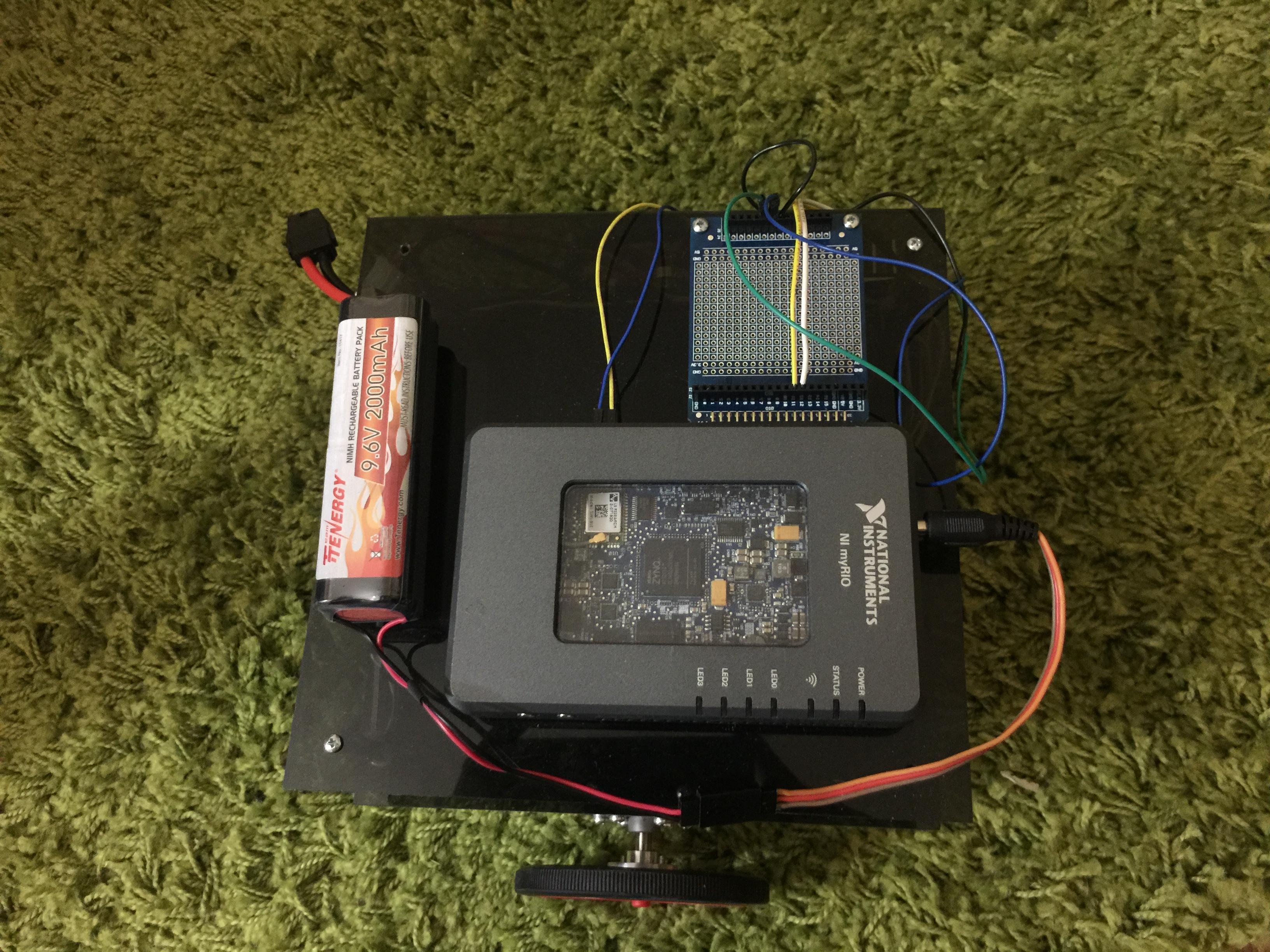 MyRIO Robot Project