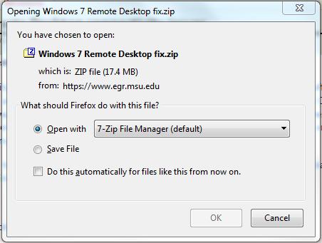 Zip file extension: open zip files now with winzip.