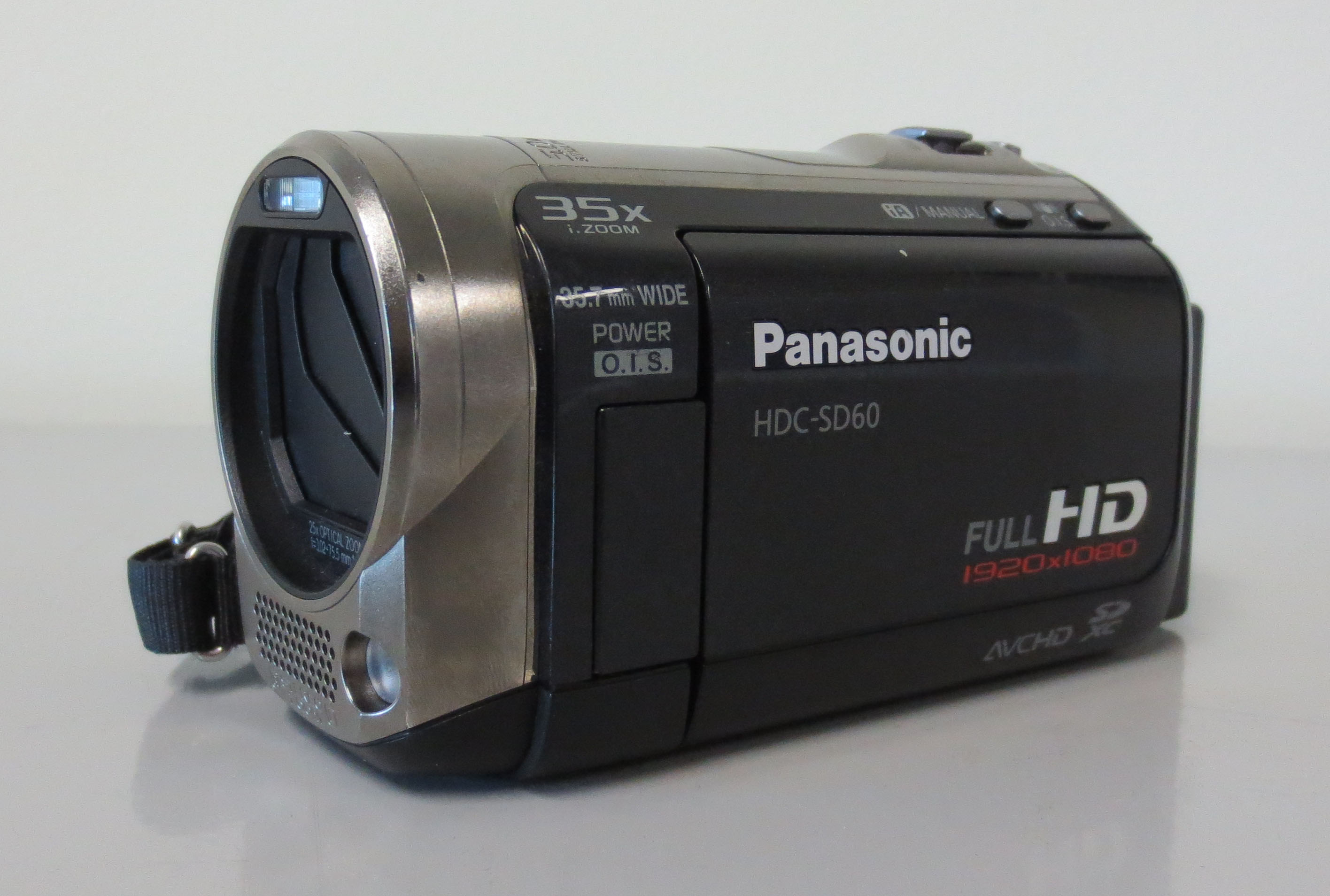 Photo of a video camera