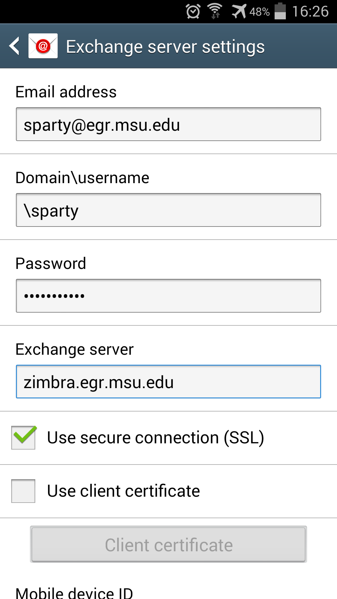 Marvelous Setup Your Zimbra Account On An Android Phone Or Tablet Decs Interior Design Ideas Gresisoteloinfo