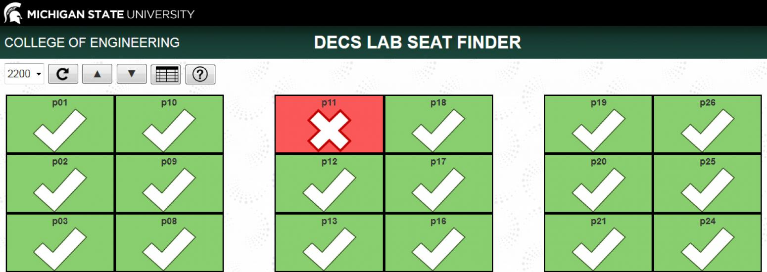 Image of Seat Finder App