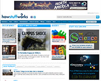 How stuff works -website screen shot