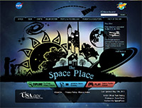 Nasa Space Place - website screen shot