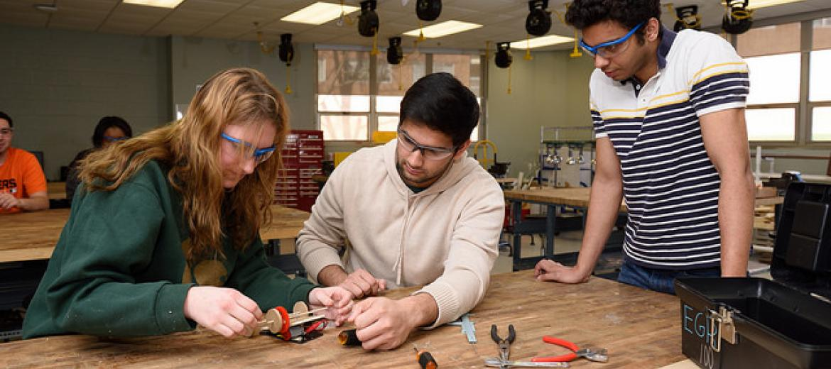 College of Engineering's integrated first-year program