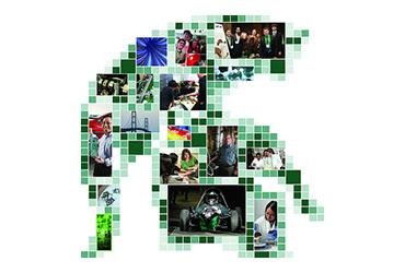 Sparty Head photo collage