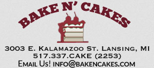 Logo for Bake N' Cakes