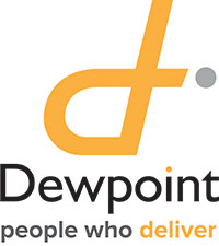 Logo for Dewpoint - People who deliver