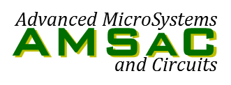 Logo for Advanced MicroSystems and Circuits research group (AMSaC)
