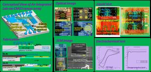 Lab-on-CMOS Microsystem