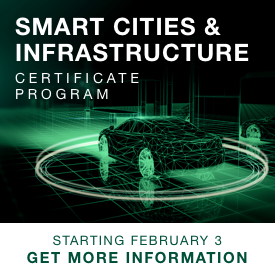 SMART CITIES & INFRASTRUCTURE CERTIFICATE PROGRAM
