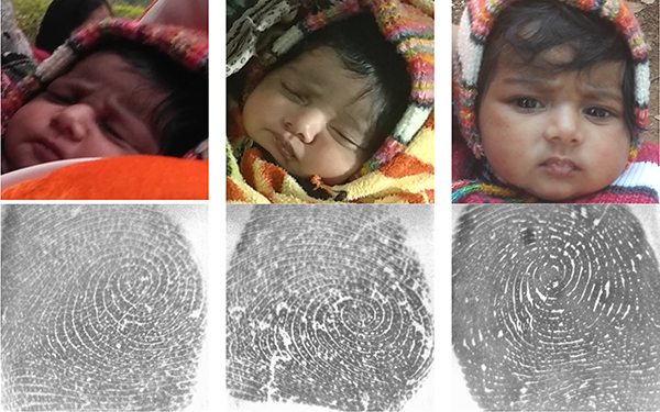 MSU biometrics researchers are working to identify and track at-risk infants around the world.