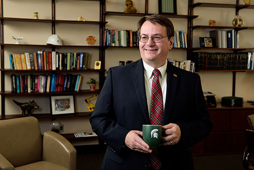 Photo of Engineering Dean, Leo Kempel