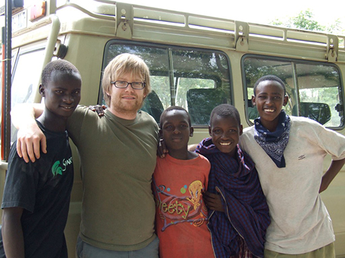"""My experiences in Tanzania both as an engineer-in-training and as a young man are immeasurable,"" said Eric Tarkleson ('09, '13), who went with the first group of students in 2008 and ended up returning 11 times."