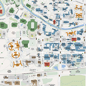 Michigan State University Map Maps & Parking | College of Engineering