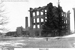 Photo of the Engineering Building and Mechanical Building destroyed by fire in 1916