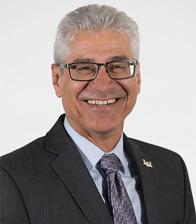 Photo of Farshad Fotouhi, dean of engineering at Wayne State University, will receive the Computer Science and Engineering Distinguished Alumni Award.