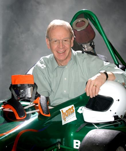 Inventor and biomechanical engineer Bob Hubbard was an MSU faculty member from 1977 until his retirement in 2006.