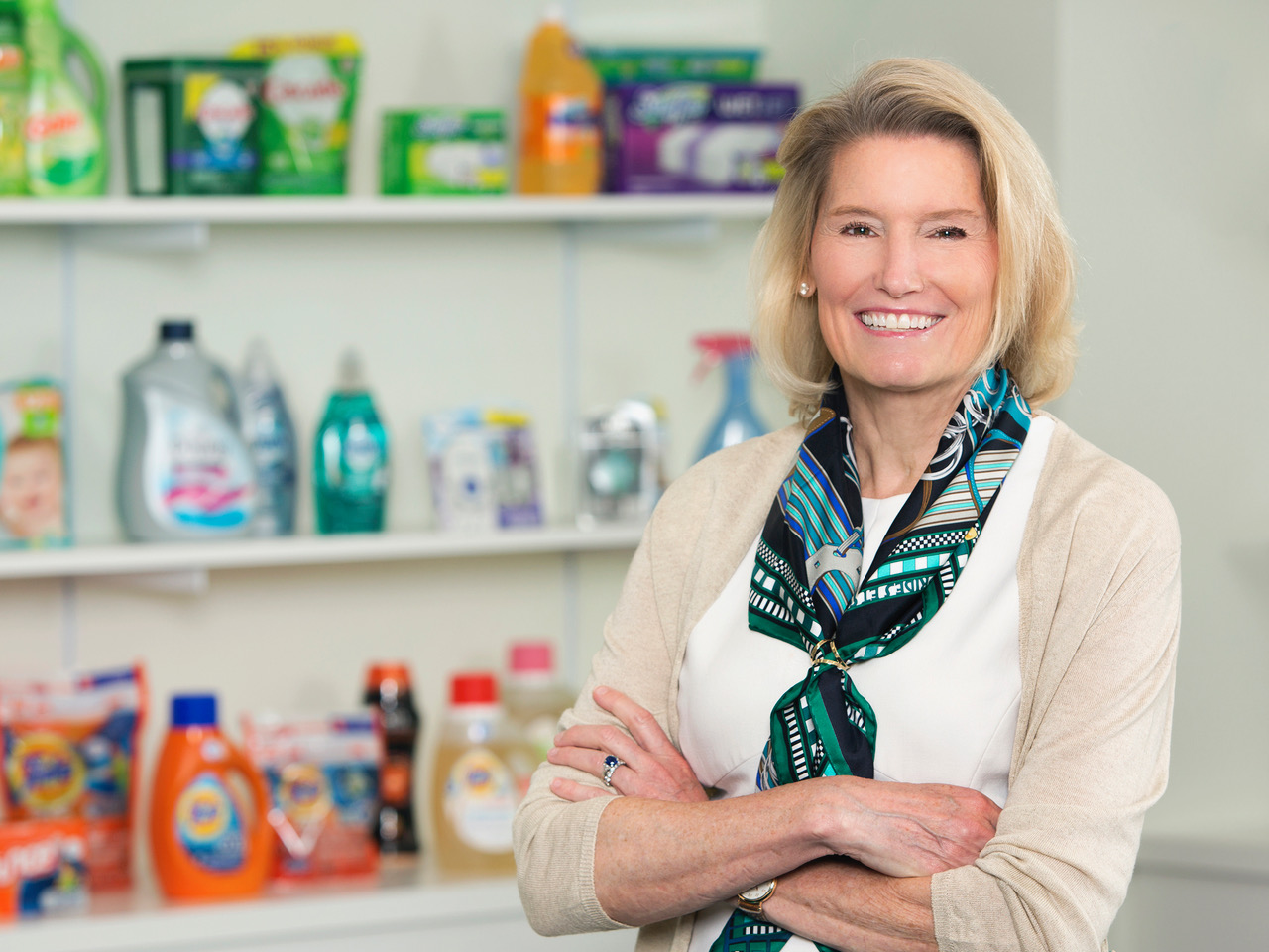 Photo of Kathy Fish of Proctor & Gamble will receive the Red Cedar Circle Award in Chemical Engineering and Materials Science.