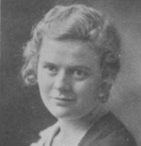 Photo of Ethel V. Lyon who was the first female granted permission to enroll in engineering