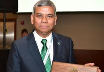 Professor Kalyanmoy Deb was presented the 2018 IEEE CIS Evolutionary Computation Pioneer Award at the IEEE World Congress on Computational Intelligence in Rio de Janeiro, Brazil, on July 11, 2018.