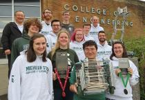 MSU's VEX U Robotics Team brings home international recognition and a trophy from 2019 VEX World Games.