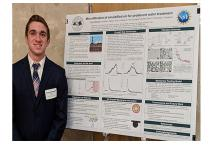 Vincent Marinelli won best poster in the Environmental and Natural Resources category during the 2019 MSU Undergraduate Research and Arts Forum (UURAF) on April 5.
