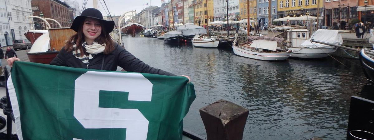 MSU Education Abroad student in Lyngby, Denmark