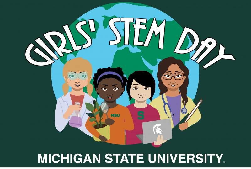Girls Stem Day Image
