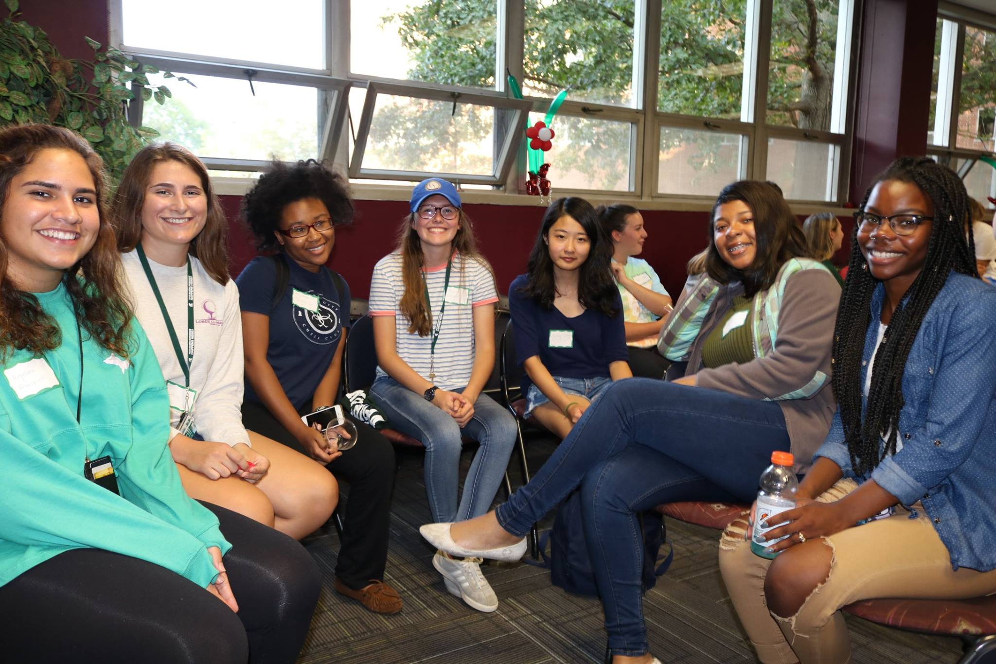 Group photo of students at WIE Celebrate!